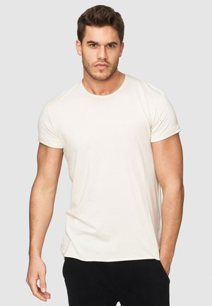 HUGON - Basic T-shirt - silver