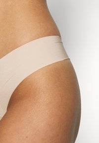 Gilly Hicks - NO SHOW THONG 3 PACK - Thong - nude - 3