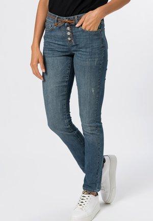 Slim fit jeans - mid blue authentic wash