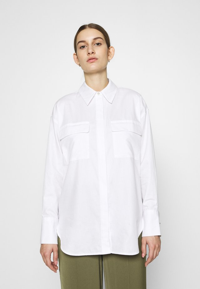 BOYFRIEND BLOUSE - Camicia - bright white