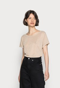 Mos Mosh - KAY TEE - Basic T-shirt - gold - 0