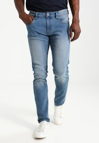 INDICODE JEANS - PITTSBURG - Slim fit jeans - blue wash - 0