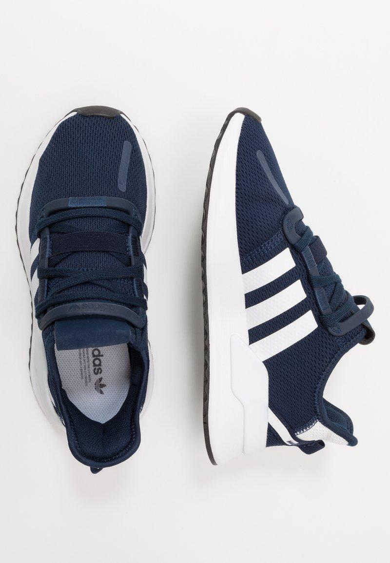adidas Originals - PATH RUN - Trainers - collegiate navy/footwear white/core black