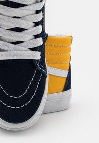 Vans - SK8 UNISEX - High-top trainers - dress blue/saffron - 5