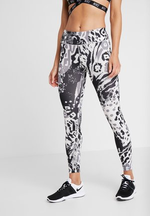 FAST - Leggings - phantom/silver