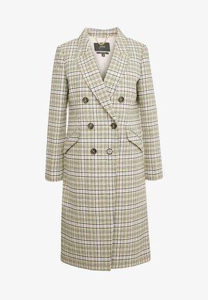 BONITA COAT - Classic coat - warm caramel/ivory