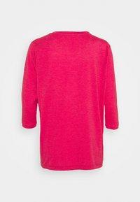 Vaude - WOMENS SKOMER 3/4 - Langærmede T-shirts - crimson red - 1