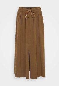 Max Mara Leisure - RADAR - A-line skirt - gold grun braun - 0