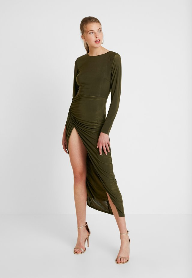 DRESS - Vestido largo - green