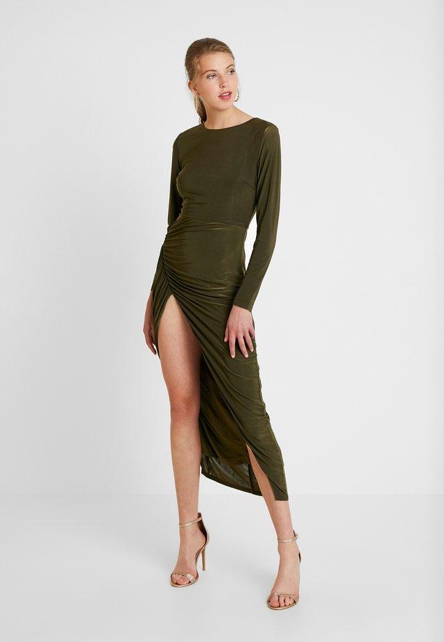 DRESS - Maksimekko - green