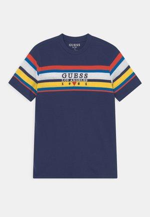 JUNIOR - Print T-shirt - deck blue