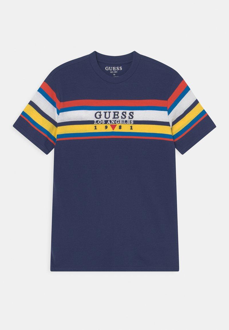 Guess - JUNIOR - Print T-shirt - deck blue