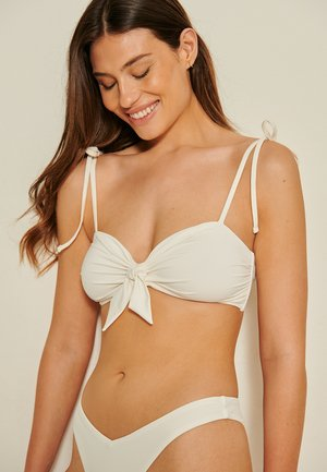 Bikini top - off white