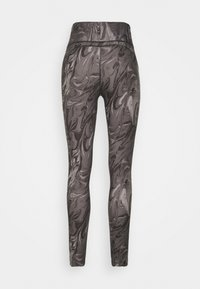 Abercrombie & Fitch - WELLNESS - Leggings - Trousers - grey marble wash - 7