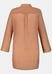 Ulla Popken - Button-down blouse - zimt - 2