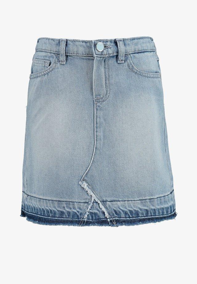 IZALOT - Denim skirt - washed blue