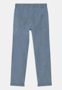Lindex - TEEN CHAMBRAY - Broek - dusty blue - 1