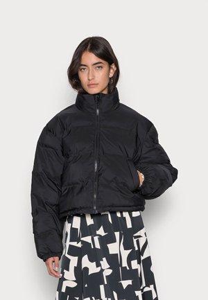 PROMIS SHORT PUFFER JACKET - Winter jacket - black