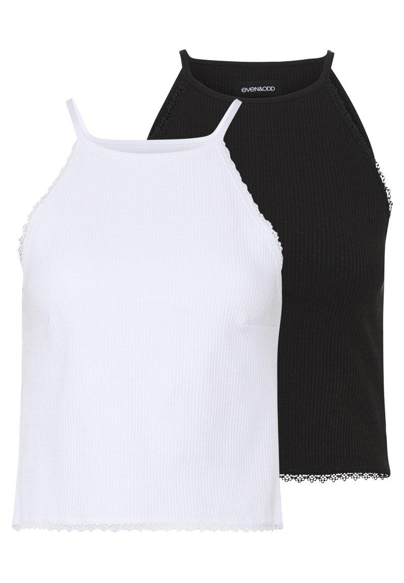 Even&Odd - 2 PACK - Topper - black/white