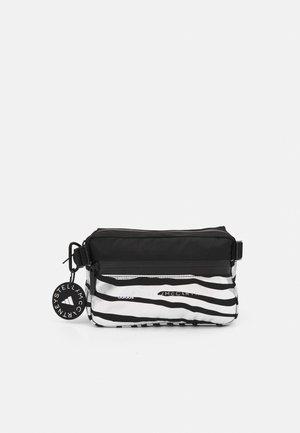 BUMBAG - Bum bag - black/silver/white