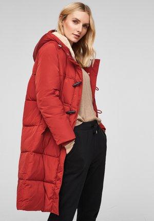 MIT KUNSTFELL - Winter coat - red