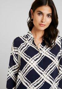 Masai - IBILY BLOUSE - Button-down blouse - navy - 3