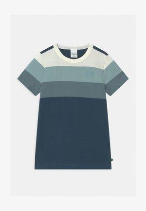 ALFA BLOCK UNISEX - T-shirt con stampa - midnight