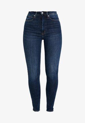 HIGH RISE - Jeans Skinny Fit - amsterdam blue dark