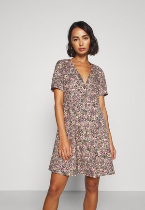 ONLFAVE SHORT DRESS - Robe d'été - black