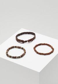 Classics77 - YALLAHS COMBO 3 PACK - Bracelet - brown - 1