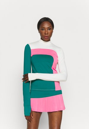 OFF TO THE RACES LONG SLEEVE - T-shirt à manches longues - classic kelly combo