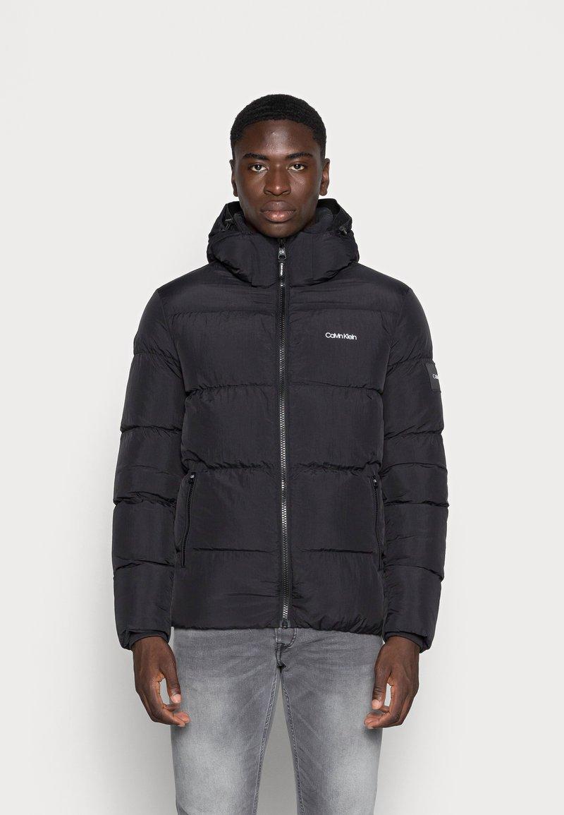 Calvin Klein - CRINKLE - Winter jacket - black