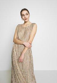 MANÉ - LAELIA DRESS - Suknia balowa - champagne/gold - 3