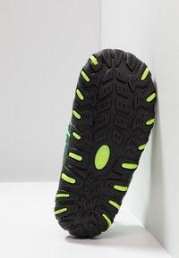 TrollKids - KIDS SANDEFJORD - Chodecké sandály - dark green/light green - 5