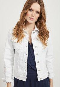 Vila - VISHOW - Denim jacket - snow white - 3