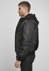 Brandit - HOODED  - Light jacket - black - 3