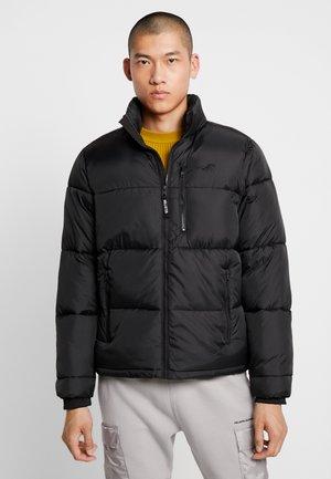 PUFFER MOCK - Winter jacket - black