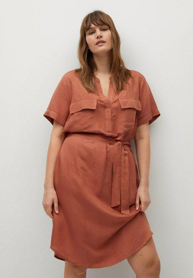 COTILI - Sukienka letnia - bräunliches orange