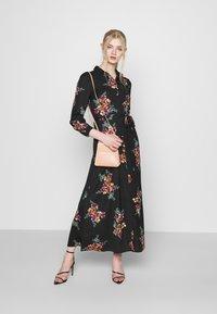 Vero Moda - VMNEWALLIE DRESS  - Maxi dress - black - 1