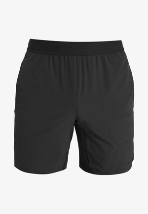 SHORT YOGA - Korte sportsbukser - black/iron grey