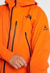 The North Face - M FREETHINKER FutureLight™ JACKET - Kurtka narciarska - papaya orange/black - 6