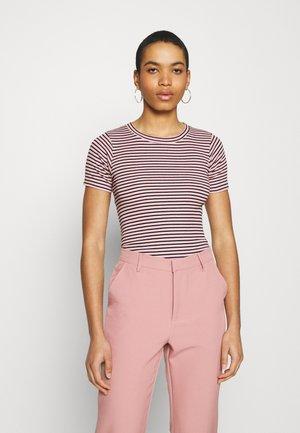 STRIPE TRUNA - Camiseta estampada - pink