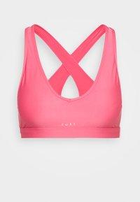 HEROS  - Stanik sportowy z średnim wsparciem - pink lemonade