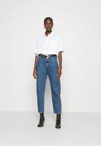 Mavi - LAURA - Relaxed fit jeans - dark blue - 1