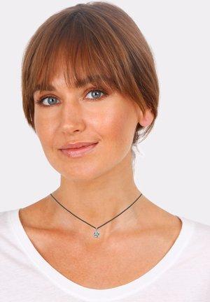 CHOKER  - Necklace - silver-coloured/black