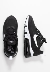 Nike Sportswear - AIR MAX 270 REACT - Baskets basses - black/white - 3
