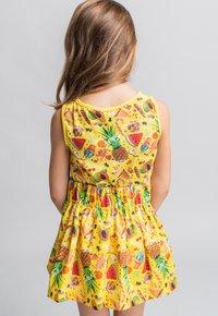 Rosalita Senoritas - FALDA - A-line skirt - light yellow - 1