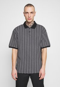 Obey Clothing - CUTTER - Polotričko - black - 0
