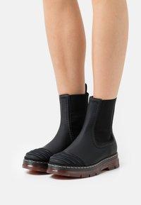 Alberta Ferretti - CHELSEA BOOT - Platform ankle boots - black - 0