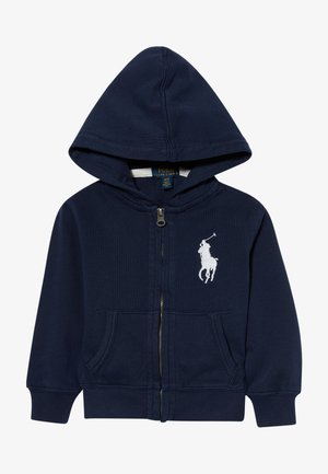 HOOD - Zip-up hoodie - newport navy